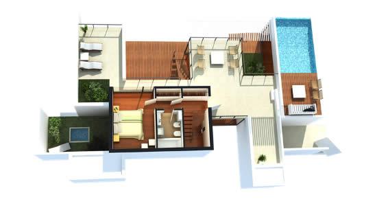 Plantas de casas modernas decorando casas for Fotos casas modernas una planta