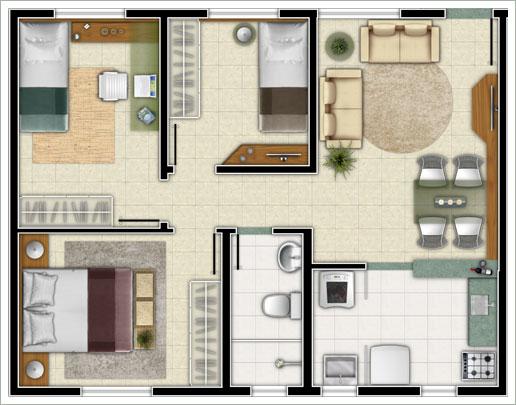 Plantas de casas simples gratis decorando casas for Casa moderna 7x7