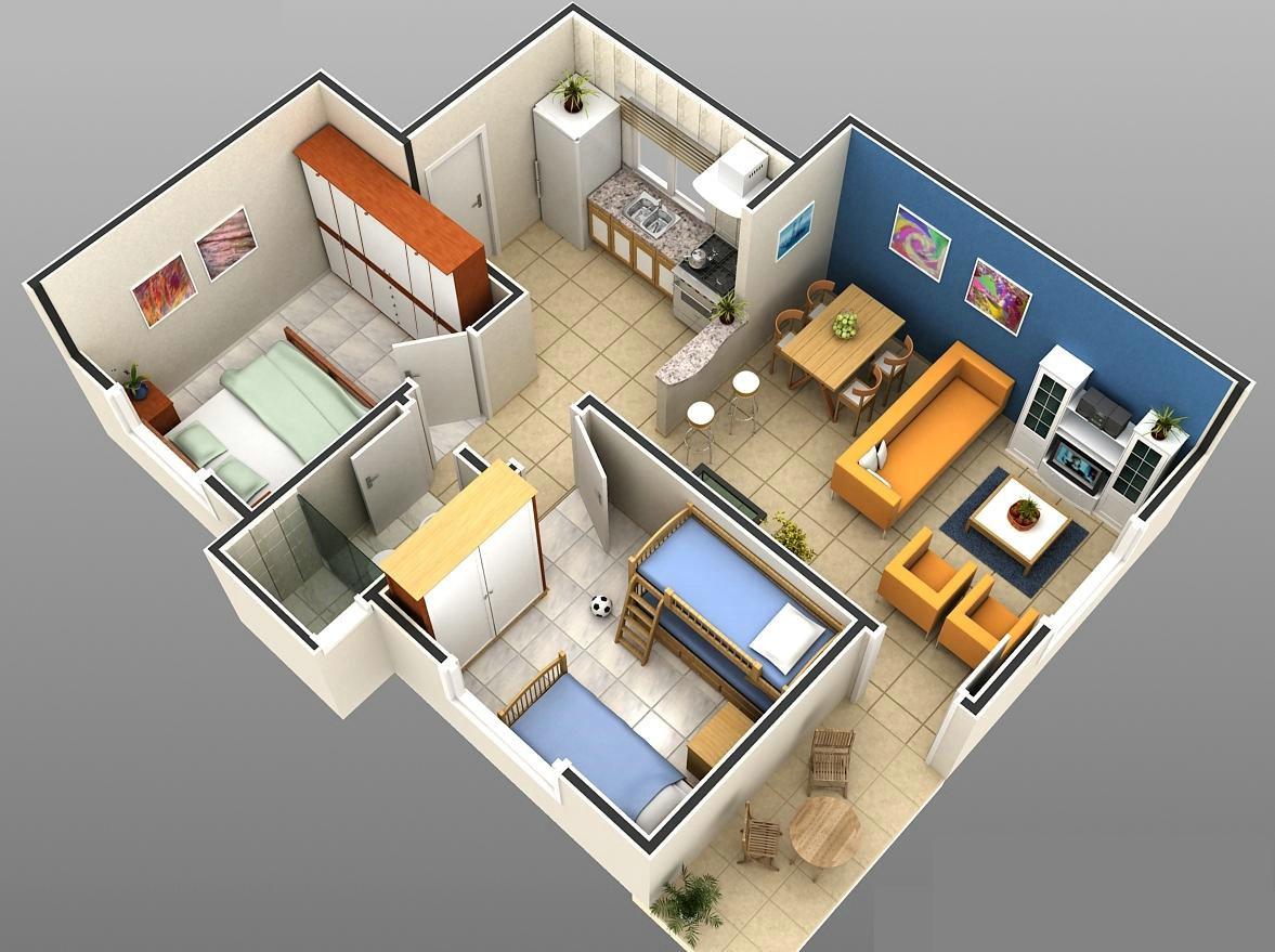 Plantas de casas pequenas e modernas fotos decorando casas for Fotos de casas modernas tipo 2