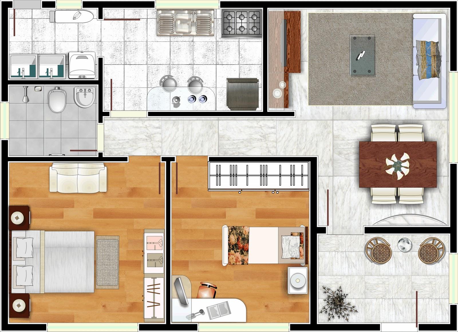 Plantas de casas modernas decorando casas for Decorando casa