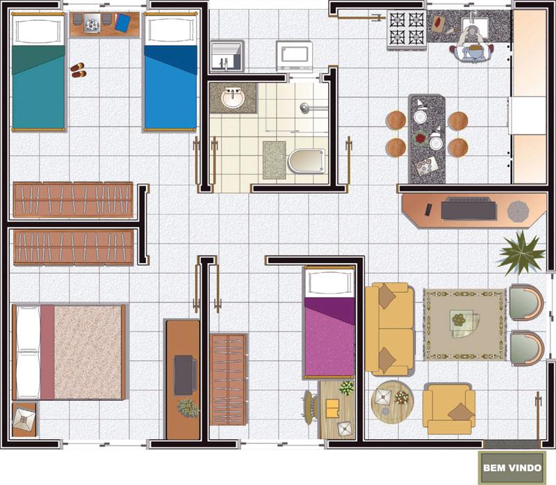 Plantas de casas modernas decorando casas - Plantas aromaticas en casa ...