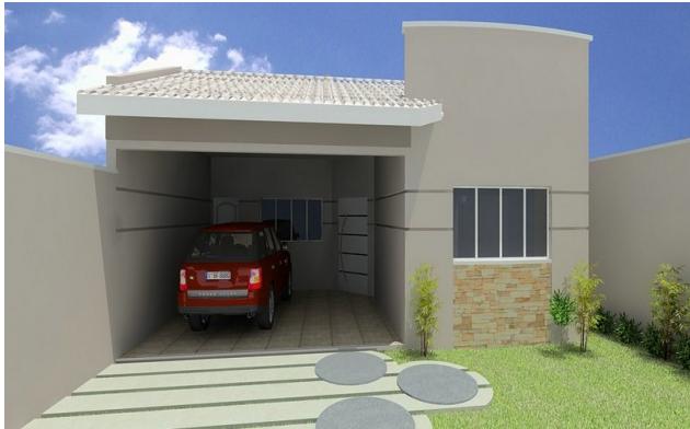 fachadas de casas pequenas garagempng - Fachadas De Casas Pequeas
