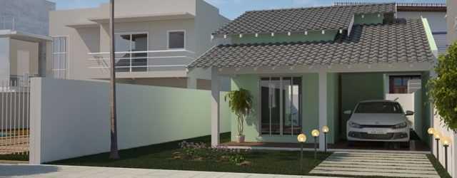 Fachadas de casas pequenas com garagem decorando casas for Jardines para frentes de casas pequenas