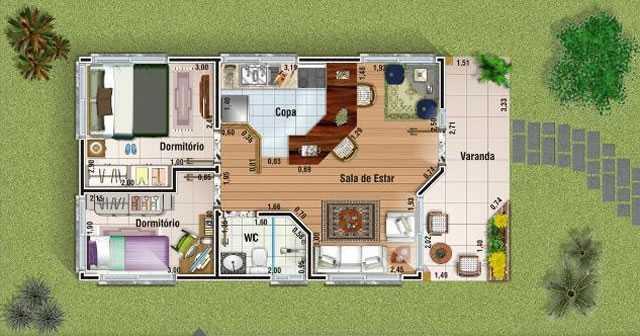 Plantas de casas de campo gratis decorando casas for Modelos de casas de campo de una planta