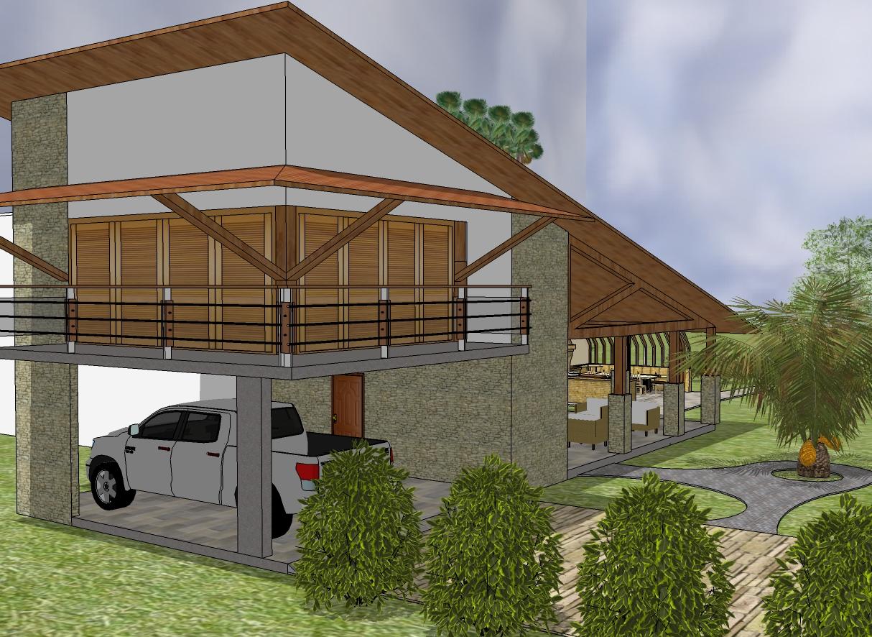 Plantas de casas de campo gratis decorando casas for Casa moderna de campo