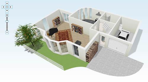 Plantas de casas em 3d gratis decorando casas for Disenar habitacion 3d online gratis
