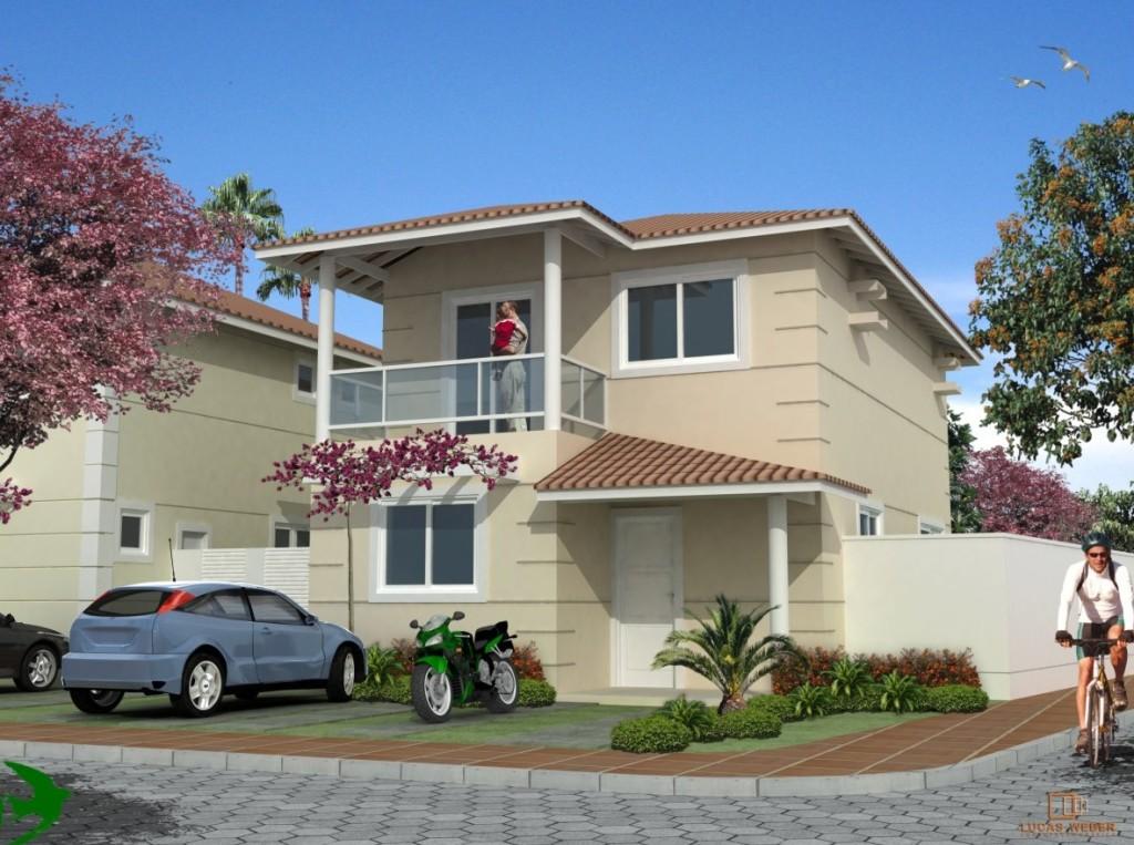 Fotos de fachadas de casas modernas e bonitas decorando for Fotos fachadas de casas sencillas y bonitas