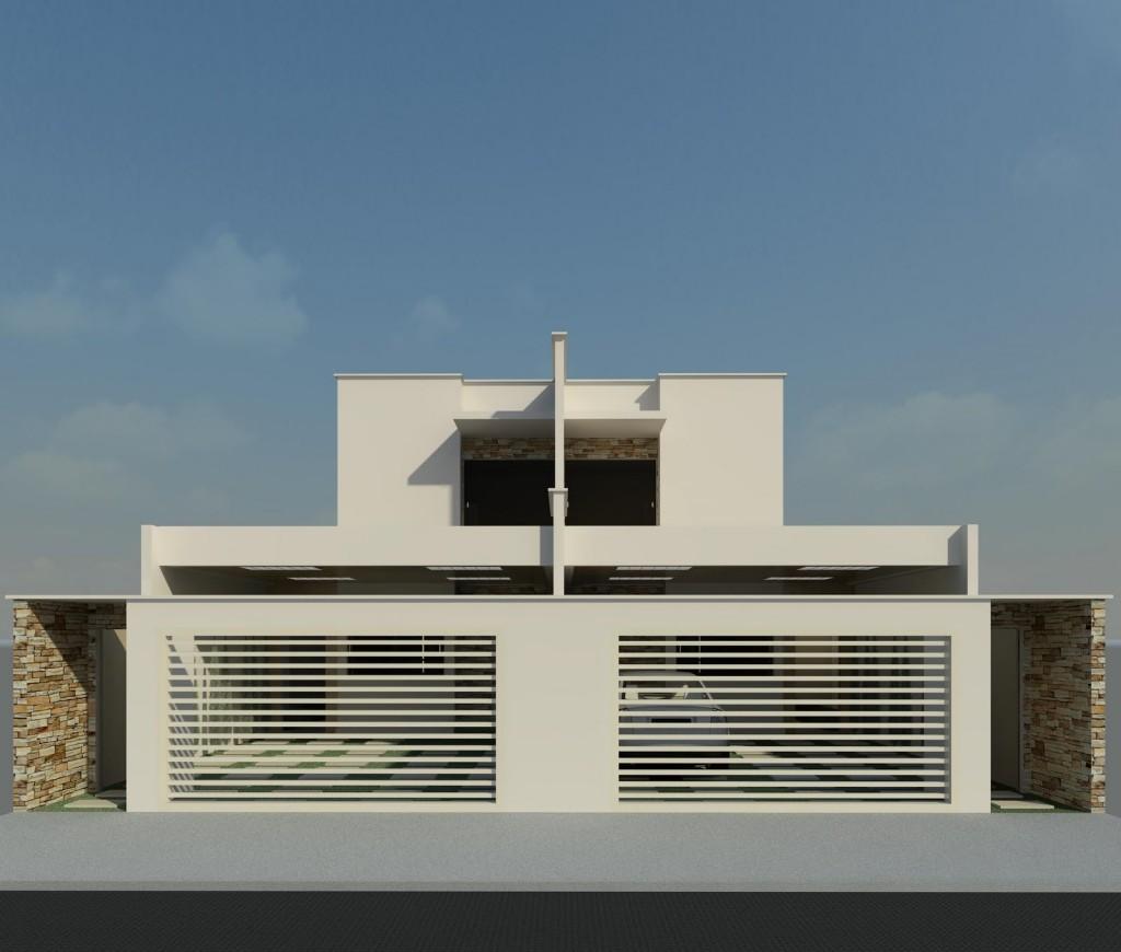 Fachadas de casas geminadas e modernas fotos decorando casas for Decorando casa