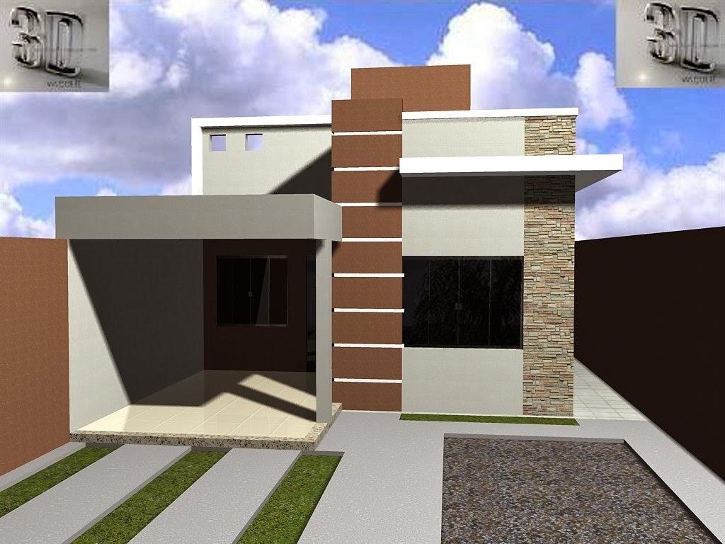 Fotos de fachadas de casas residenciais auto design tech for Modelos de fachadas de casas