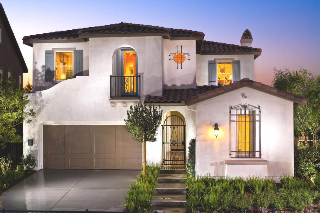 Fotos de fachadas de casas modernas e pequenas decorando for Casas premoldeadas modernas