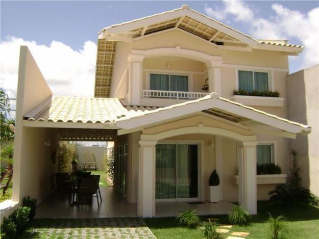 Fotos de fachadas de casas modernas e bonitas decorando for Modelo de fachadas para casas modernas