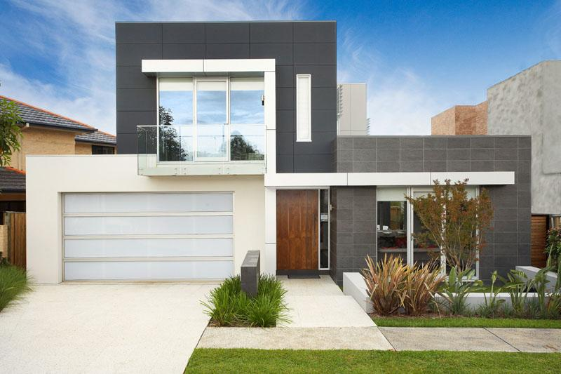 Fotos de fachadas de casas modernas e bonitas decorando for Frentes de casas minimalistas