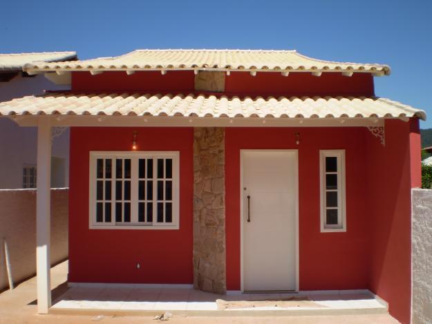 Fachadas de casas pequenas com varanda fotos decorando casas for Modelos de fachadas para frentes de casas