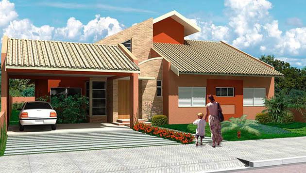 Fachadas de casas pequenas com varanda fotos decorando casas for Fachadas de casas ultramodernas