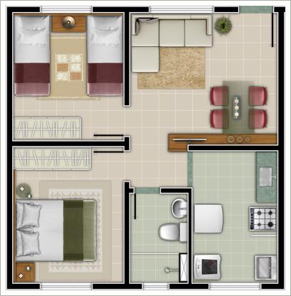 Plantas de Casas (Mais de 50 modelos de plantas para