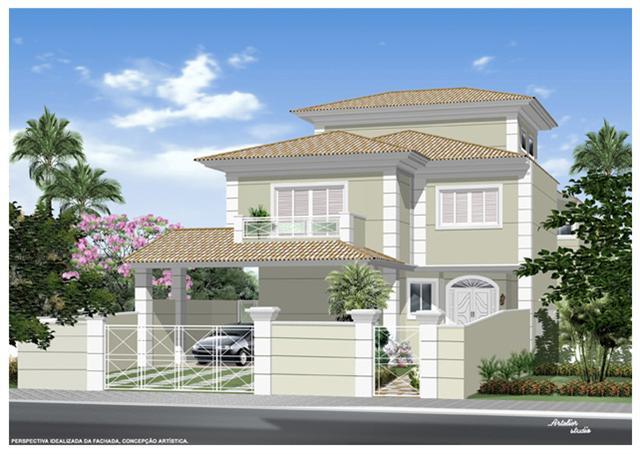 Fachadas de casas modernas com muros fotos decorando casas for Modelo de fachadas para casas modernas