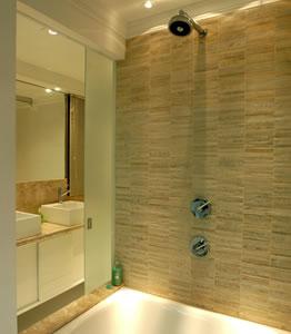 #474542 Revestimento para banheiros modernos e pequenos fotosDecorando Casas 262x300 px revestimento para banheiro pequeno e simples