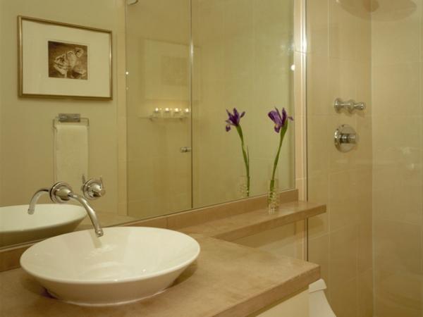 Revestimento para banheiros modernos e pequenos fotos  Decorando Casas -> Banheiro Estilo Moderno