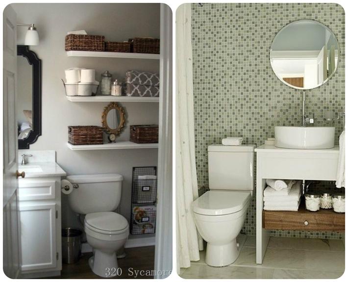 decoracao de banheiro pequeno quadrado – Doitricom # Banheiros Modernos Fotos