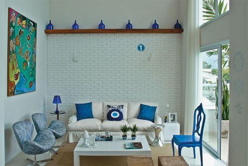 decoracao kitnet praia:Decoração de casas de praia simples e pequenas