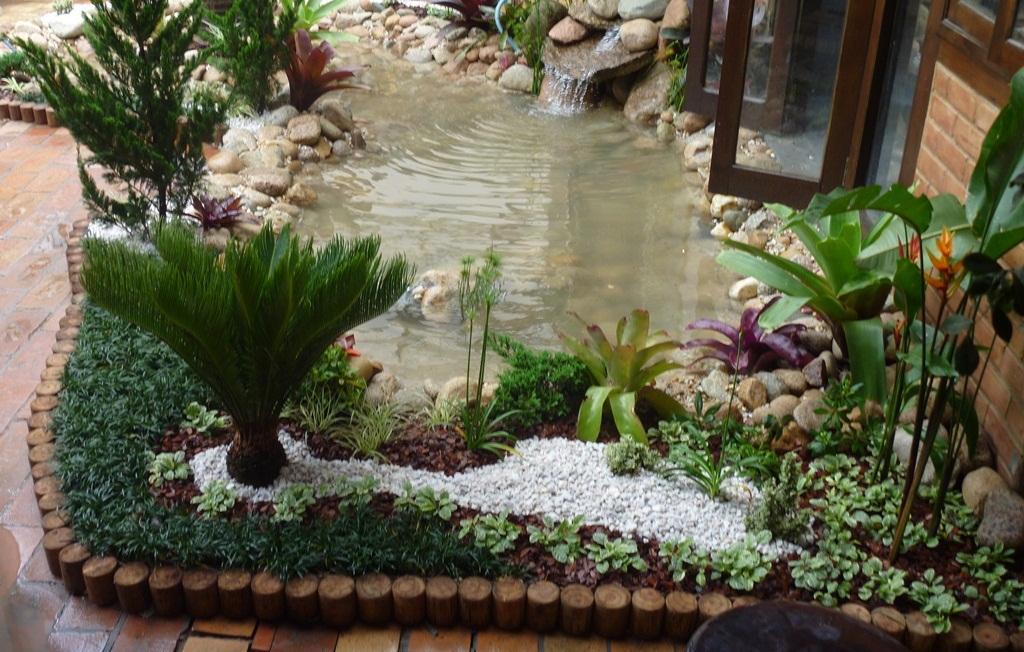 Dicas de decora o de jardim r stico fotos decorando casas - Piedras para jardin baratas ...