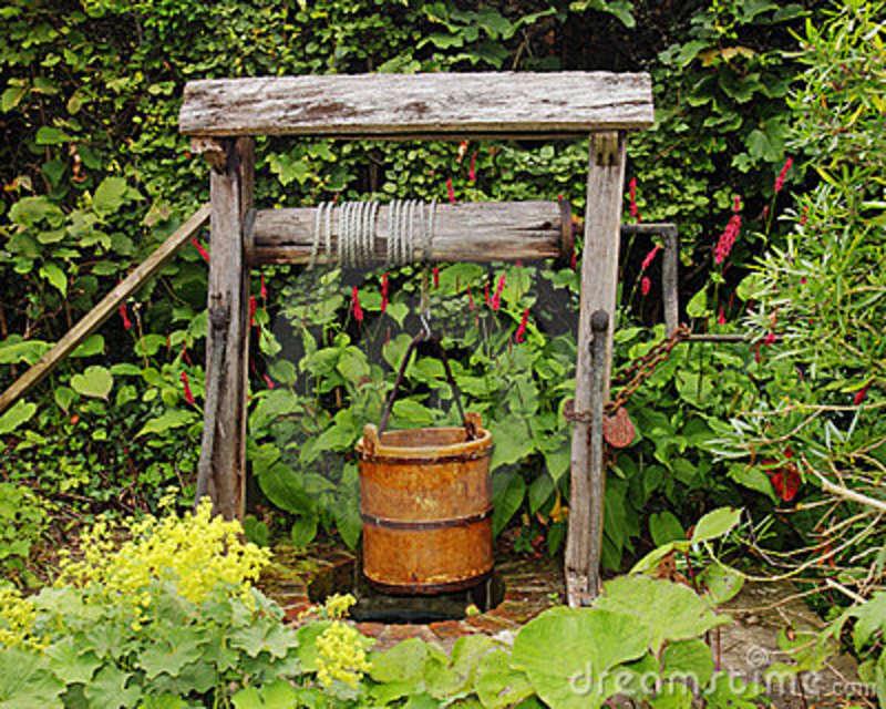 banco de jardim rustico:Dicas de decoração de Jardim rústico fotos