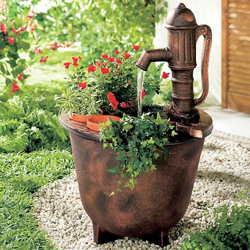 decorar um jardim : decorar um jardim:Dicas de decoração de Jardim rústico fotos