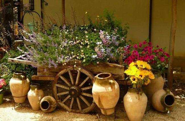 Dicas de decora o de jardim r stico fotos decorando casas for Jardines con encanto ideas