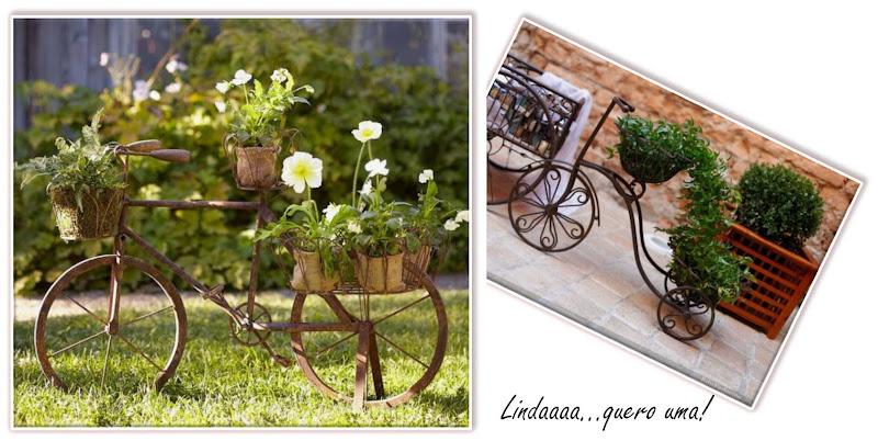 Dicas De Decoração De Jardim Rústico Fotos ~ Enfeites Rusticos Para Jardim