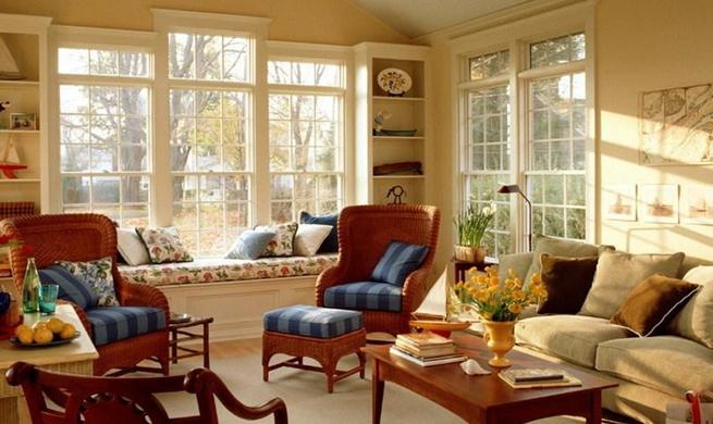 Decora o de casas de campo simples e pequenas decorando for Decorar una casa de campo