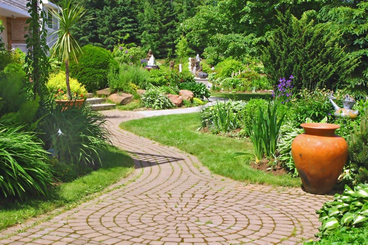 Dicas e fotos de paisagismo e jardinagem para sua casa for Jardines grandes
