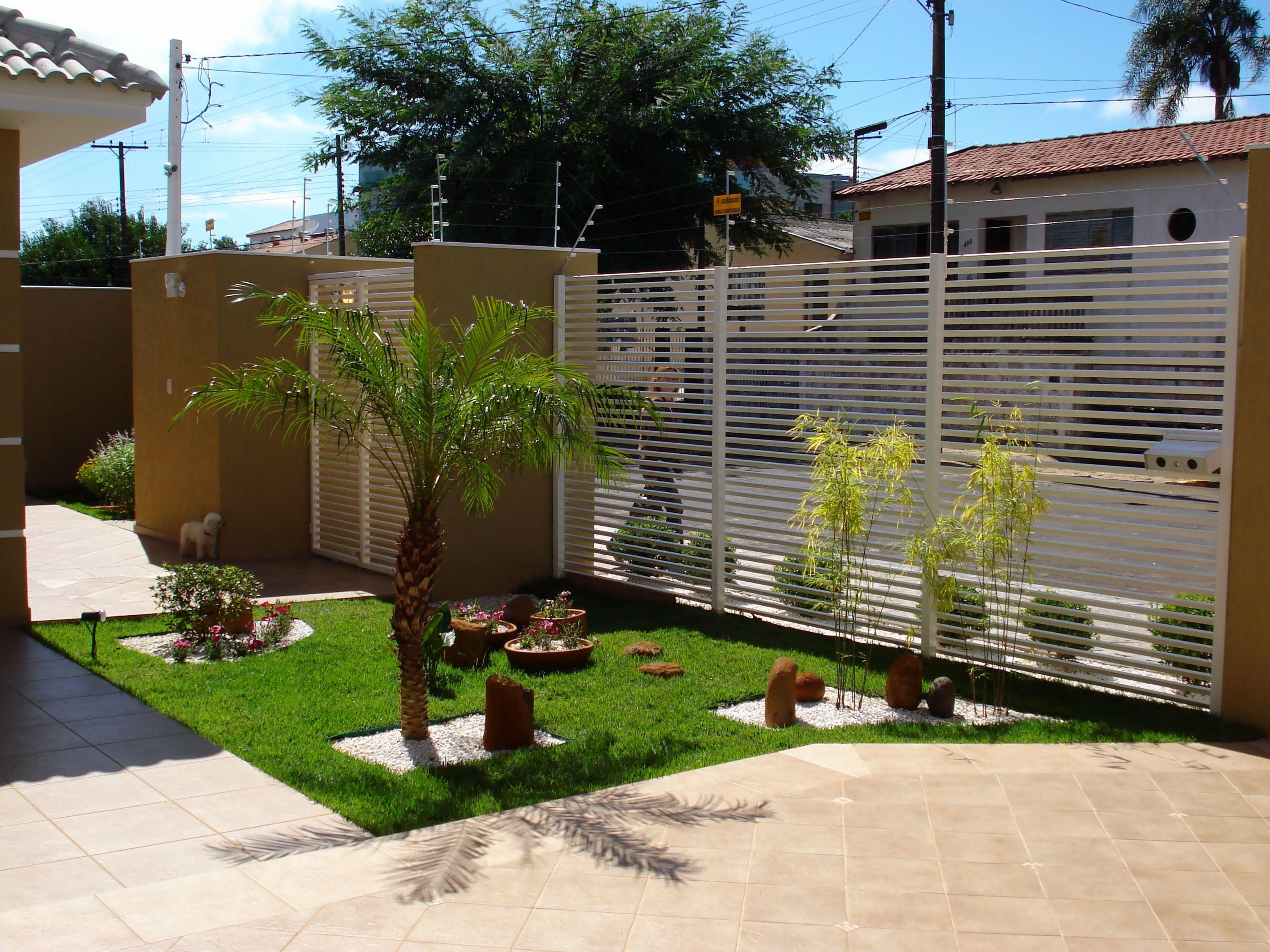 Dicas e fotos de paisagismo e jardinagem para sua casa for Casas e jardins simples
