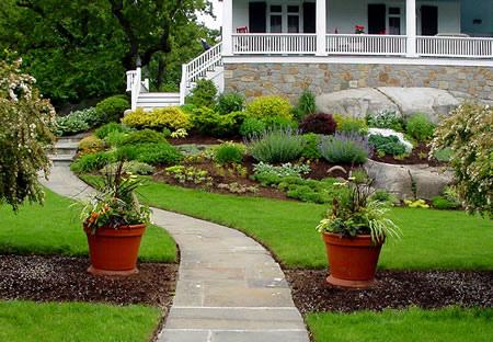Dicas e fotos de paisagismo e jardinagem para sua casa - Antejardines pequenos fotos ...