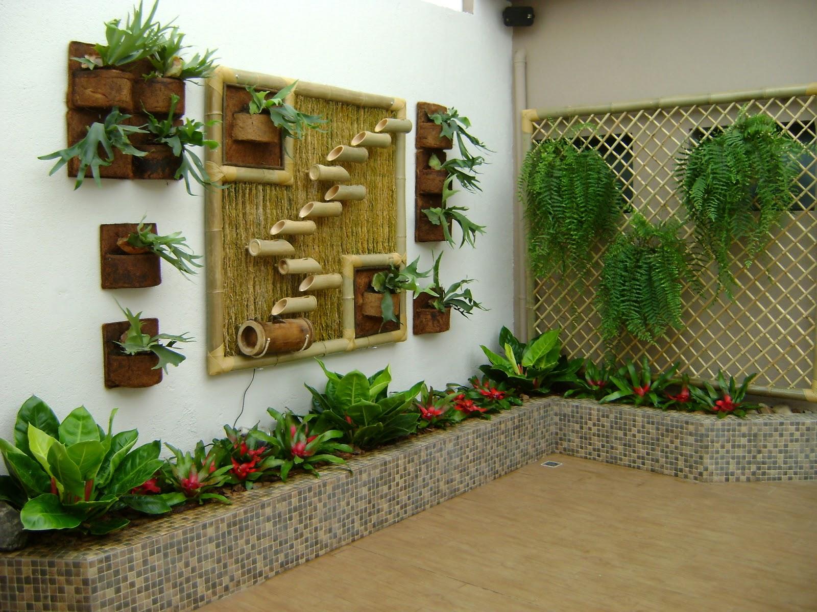 Dicas e fotos de paisagismo e jardinagem para sua casa - Plantas para patios interiores ...