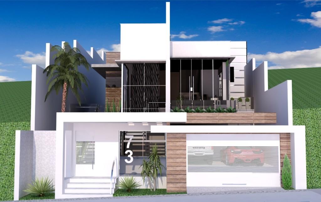 Fachadas casas luxuosas fotos car interior design - Casas unifamiliares modernas ...
