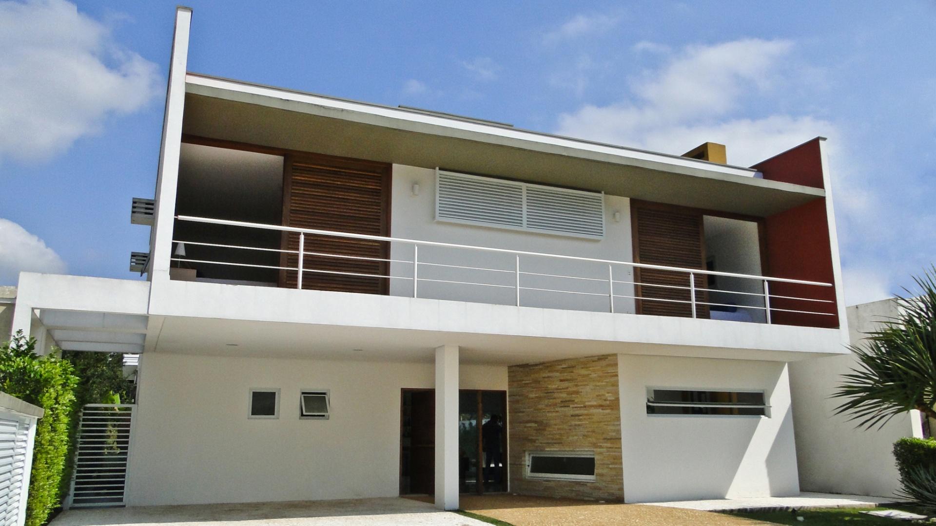 Fachadas de casas modernas com telhado embutido e - Modelo de casa modernas ...