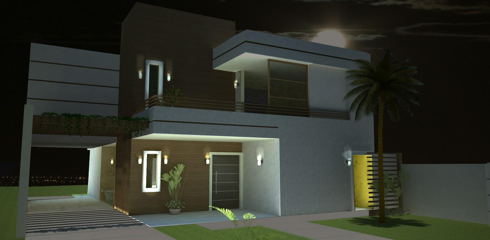 Fotos de patios casas modernas presupuesto e imagenes for Casas modernas
