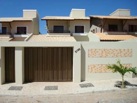 Fachadas de casas modernas com port o decorando casas for Ver frentes de casas