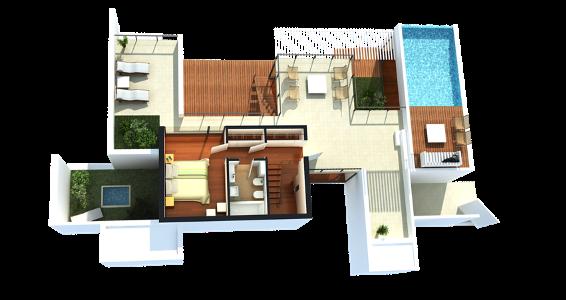 Plantas de casas modernas 2014 fotos decorando casas for Casas pequenas de una planta modernas