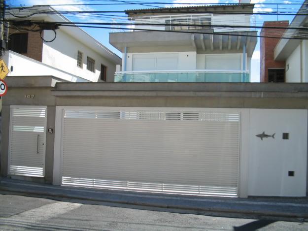 Famosos Modelos e fotos de portões de casas modernas | Decorando Casas XI64