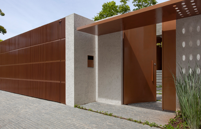 Modelos e fotos de port es de casas modernas decorando casas - Tipos de muros ...