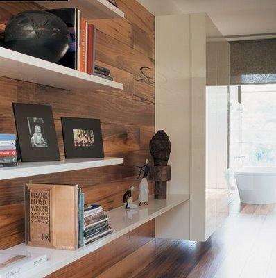 Revestimentos para paredes de madeira modelos e fotos for Revestir paredes interiores