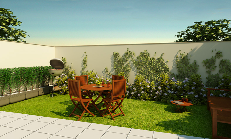 decoracao de jardins simplesfotos de jardins de casas simples e