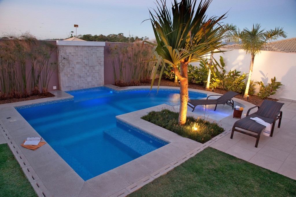 Projetos de piscinas residenciais gr tis decorando casas - Precio hacer piscina ...