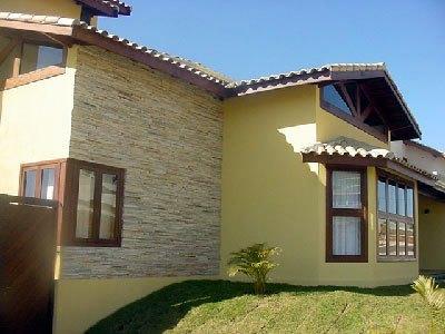 Acabamento de casas externas