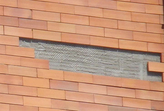 Revestimento para fachadas de casas decorando casas for Fachadas de ceramica