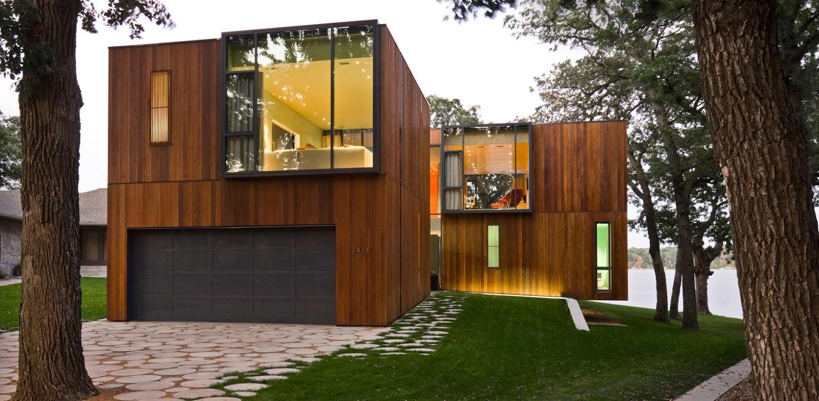 Revestimento para fachadas de casas decorando casas for Decorando casa