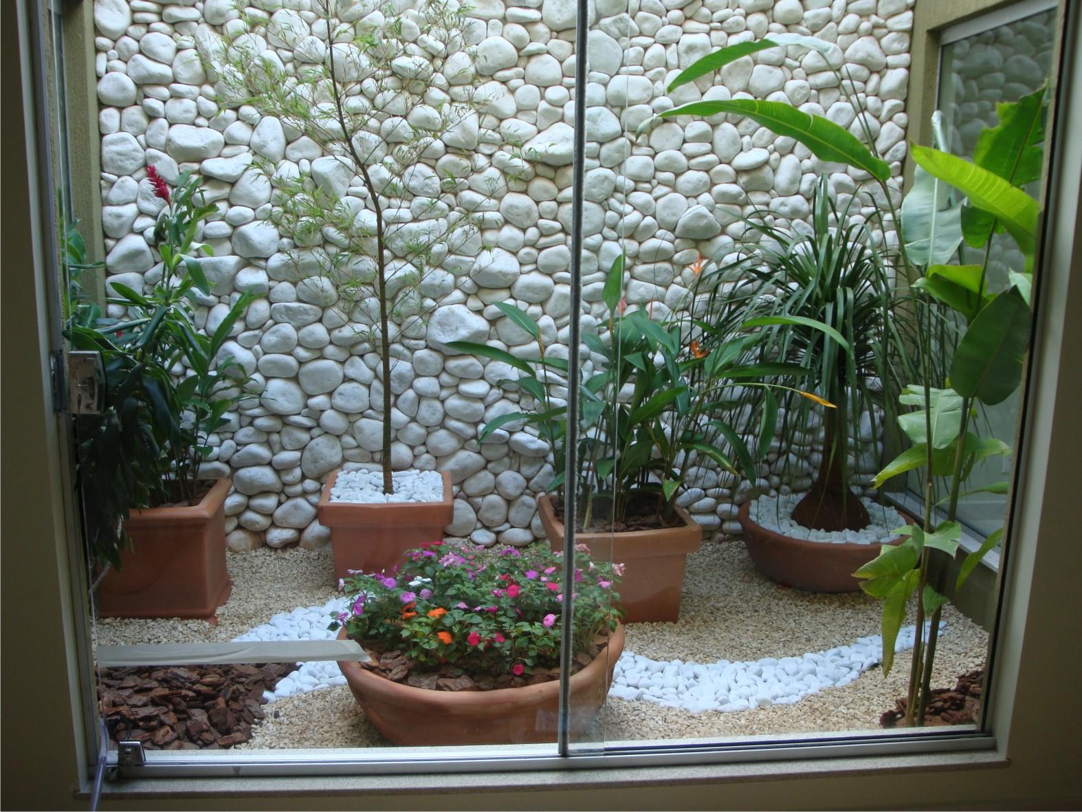 decorar um jardim : decorar um jardim:Decoração para jardim de inverno pequeno