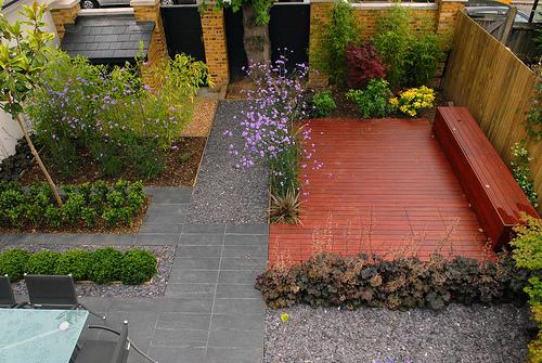 Decora o para quintal pequeno fotos decorando casas for Soluzioni per piccoli giardini