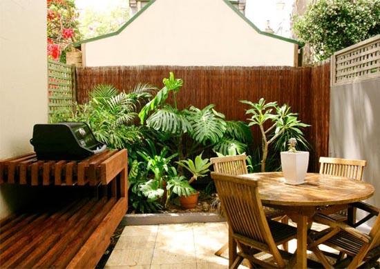 Decora o para quintal pequeno fotos decorando casas - Decorar patio pequeno ...